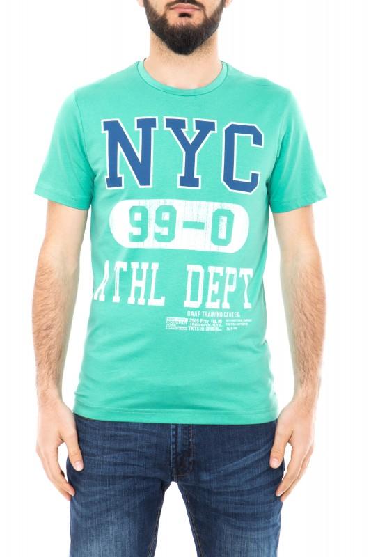 Daniel Daaf Shirt mit Schriftzug - Mint (mint)