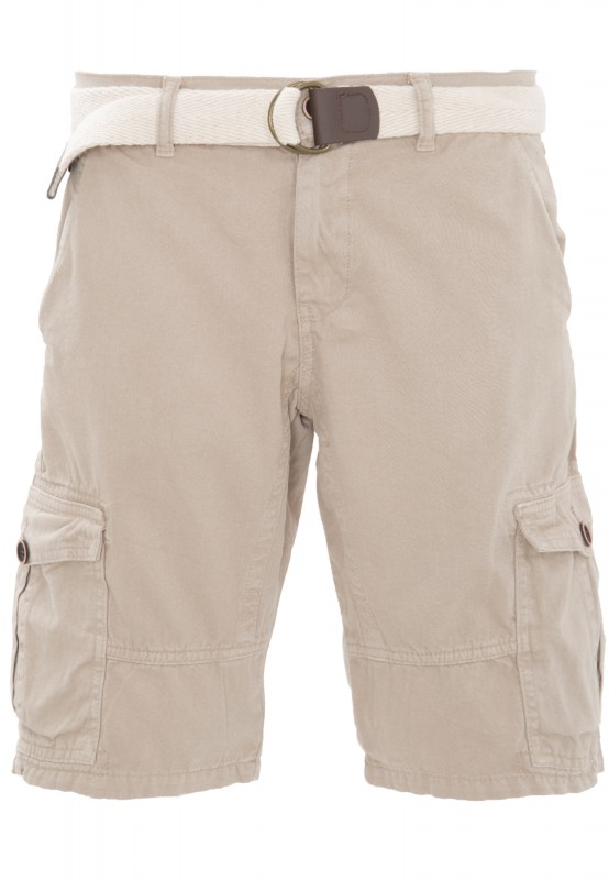 WAY OF GLORY Cargo Shorts Outdoor Look - beige (stone) - Regular Fit