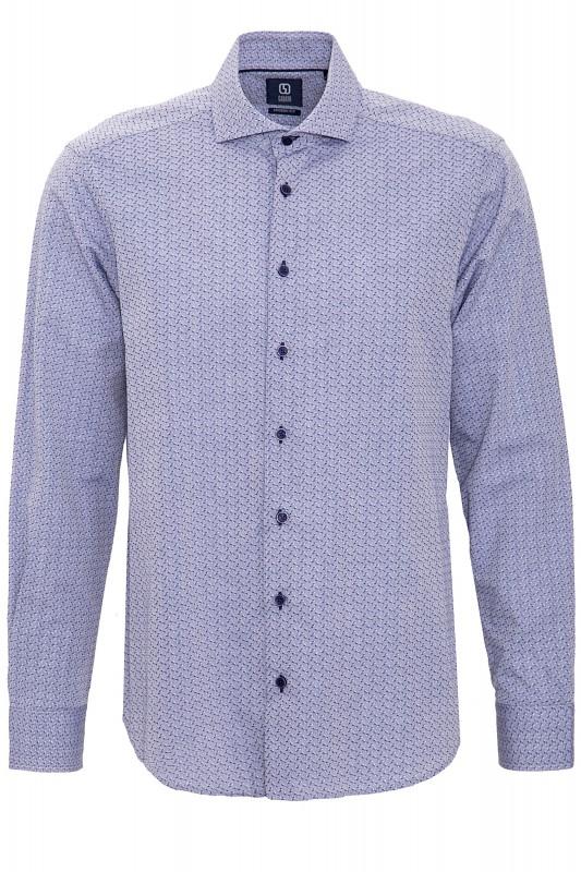 GABANO Langarmhemd mit dezentem Muster