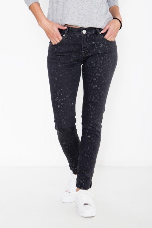 ATT Jeans mit Glitzerdetails