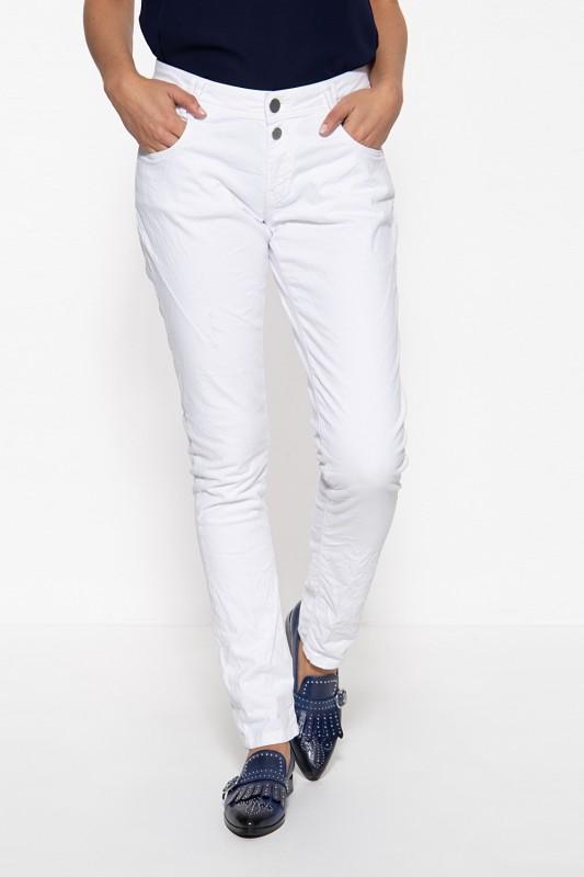 WAY OF GLORY Damen Jeans mit Waschungen