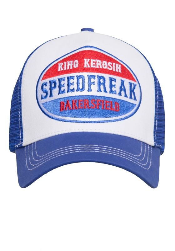 KING KEROSIN Trucker Cap mit Mesh-Einsatz Speedfreak
