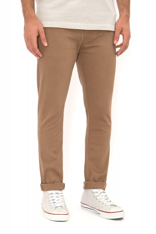 WAY OF GLORY Chino Hose Slim Fit 5-Pocket Form - beige - Slim Fit