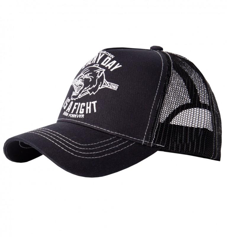 KING KEROSIN Trucker Cap »Every day is a fight« mit Motiv Stickerei Every day is a fight