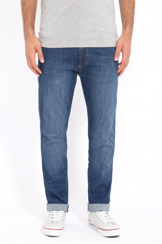 WAY OF GLORY 5-Pocket-Jeans Regular Fit, Stone Wash John