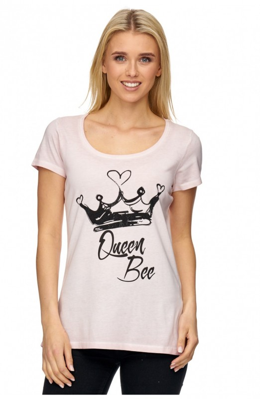 DECAY T-Shirt mit Frontmotiv Queen Bee
