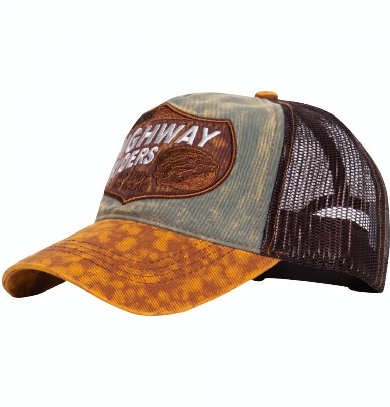 Trucker Cap mit authentischem Enzymwash »Highway Riders«