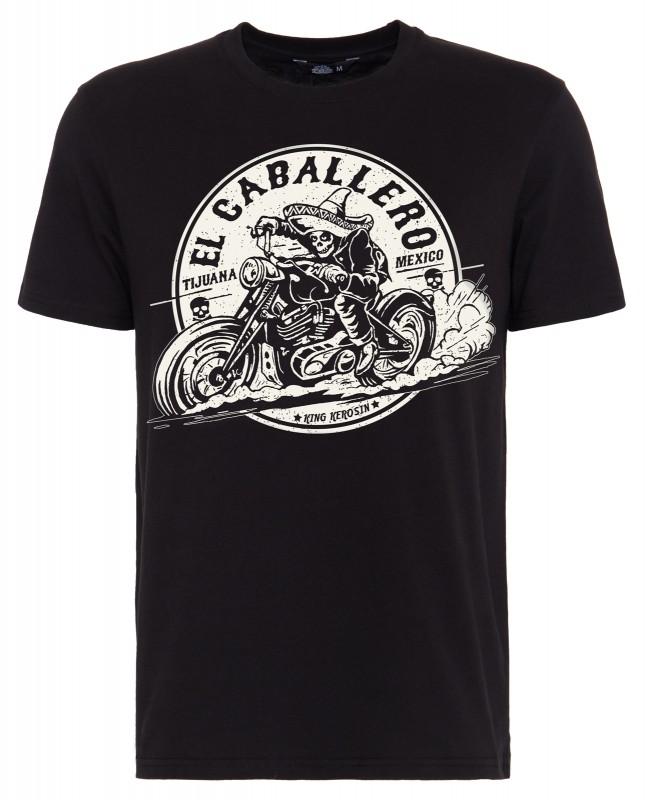 KING KEROSIN T-Shirt mit Front Print »El Cabalerro« El Cabalerro