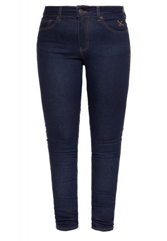 High Waist Slim Fit Jeans im 5-Pocket-Design »Betty«