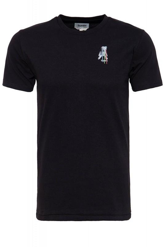BUNTH T-Shirt mit großem Print im Rücken