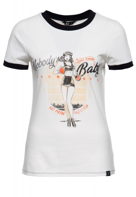 Cooles Contrast-Shirt »Nobody's Baby«