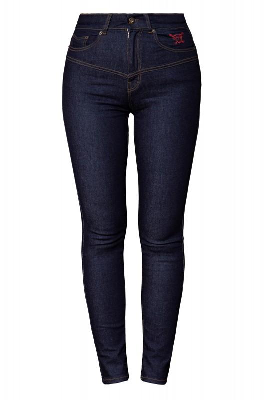 High Waist Jeanshose im 5 Pocket Design »Betty«