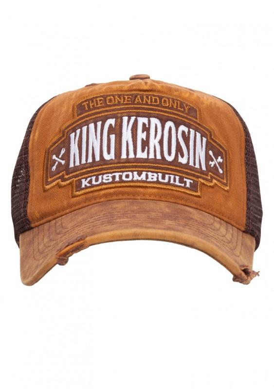 KING KEROSIN Trucker Cap im Vintage-Style