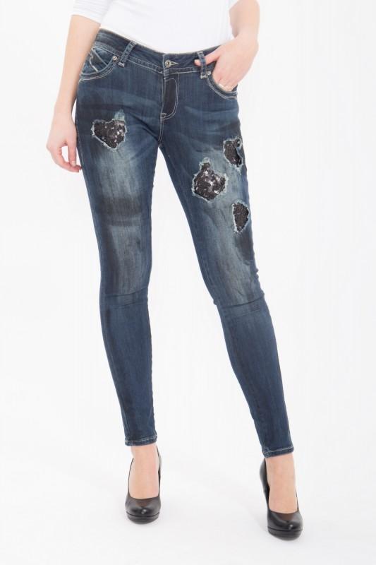 BLUE MONKEY Skinny Jeans Laura 1653 Laura 1653