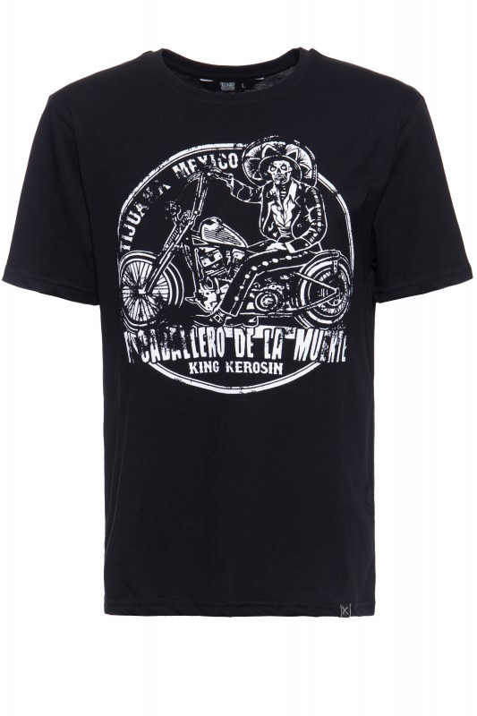 T-Shirt mit Print »Mexican Rider«