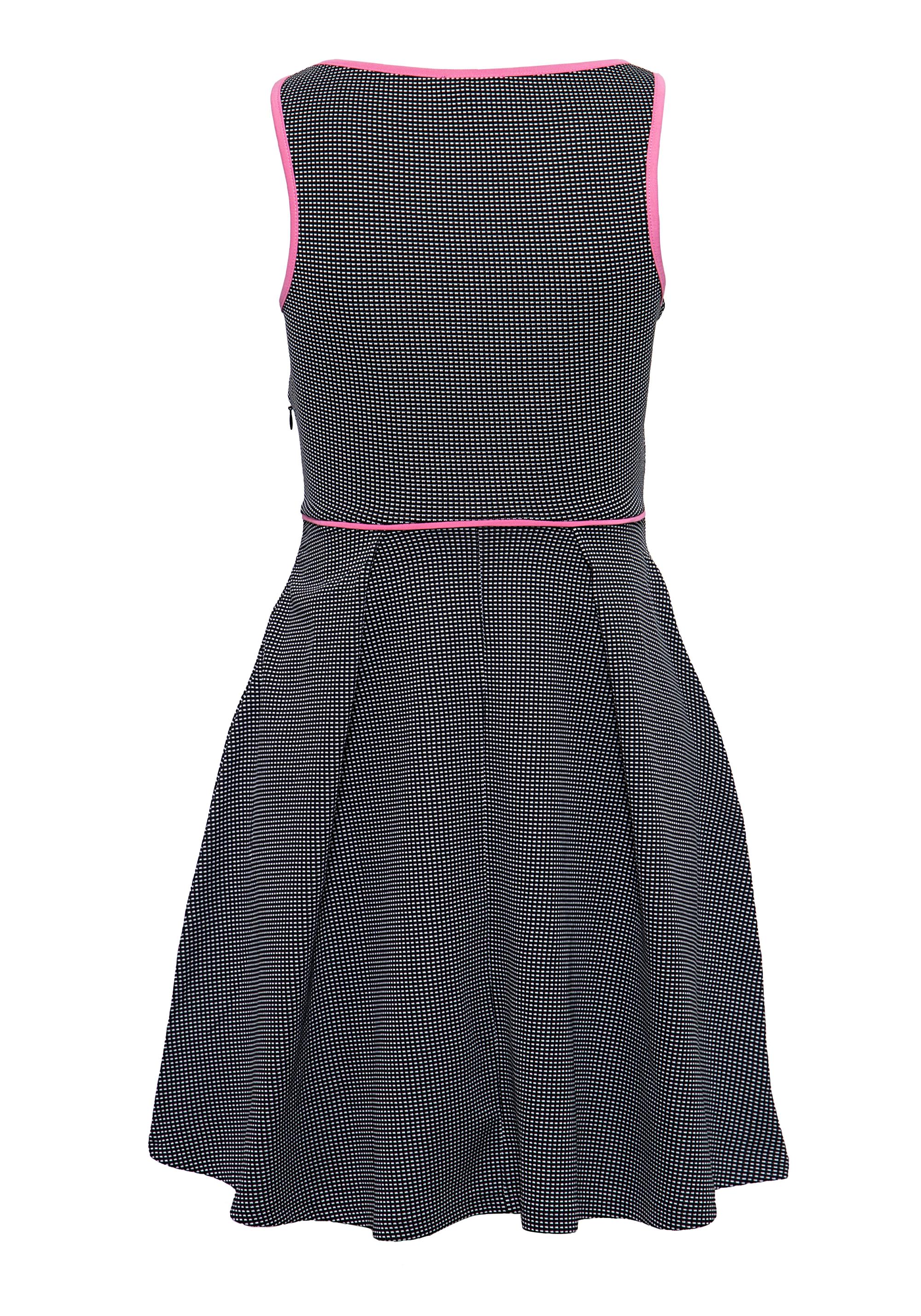 d7982561a145f MEXX Tailliertes Kleid mit kontrastierenden Einfassungen