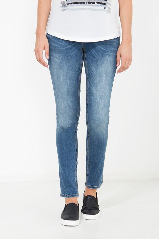 ATT JEANS Slim Fit Jeans mit vorderer Passenabtrennung Zoe