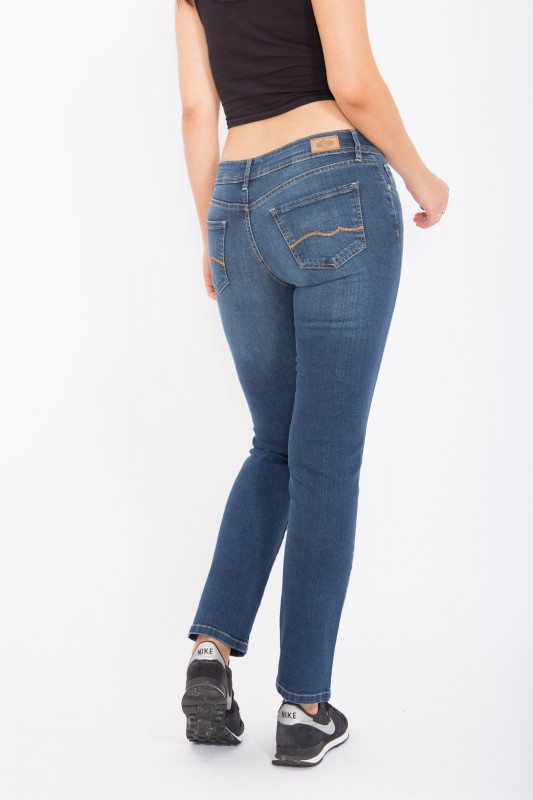 WAY OF GLORY Jeans Britney regular fit & straight leg, helle Waschung Britney
