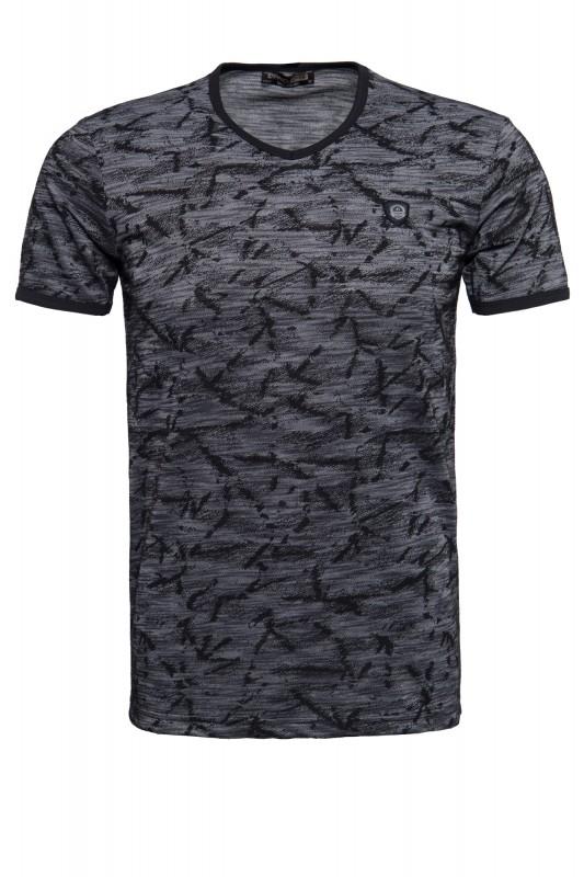 Daniel Daaf T-Shirt mit gewebter Struktur