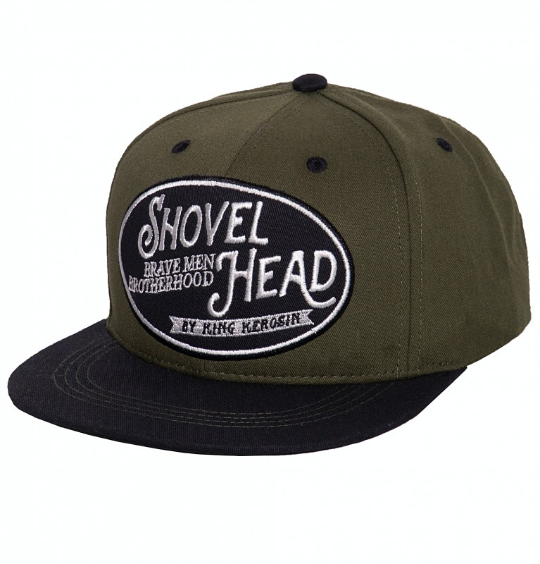 Snapback Cap »Shovel Head«