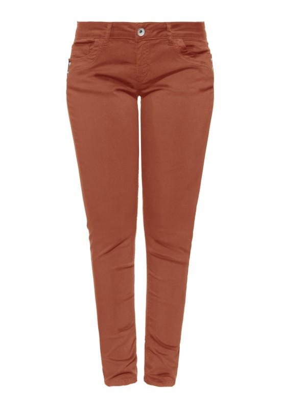 Damen Slim Fit Jeans im 5-Pocket-Design »Leoni«