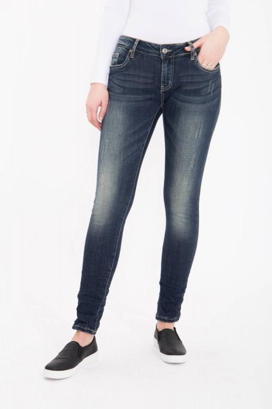 BLUE MONKEY Skinny Jeans Honey 1628 Honey 1628