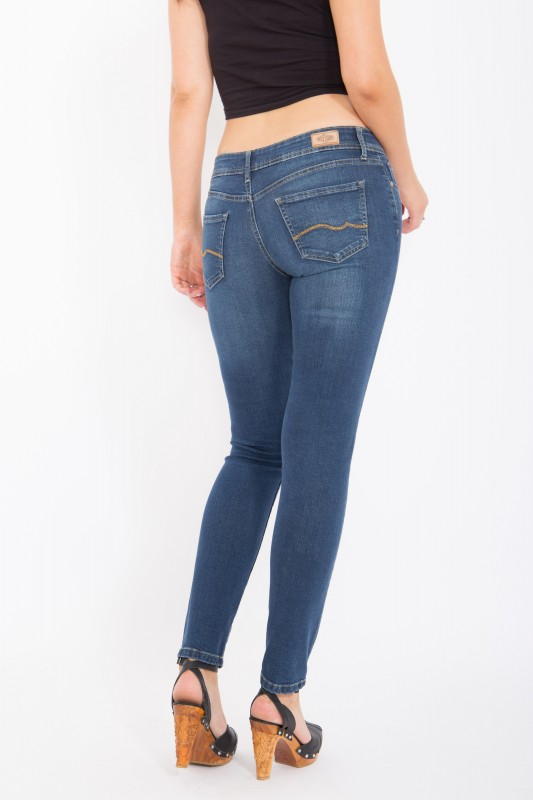 WAY OF GLORY Jeans - Katy - slim fit & narrow leg - mid blue wash Katy