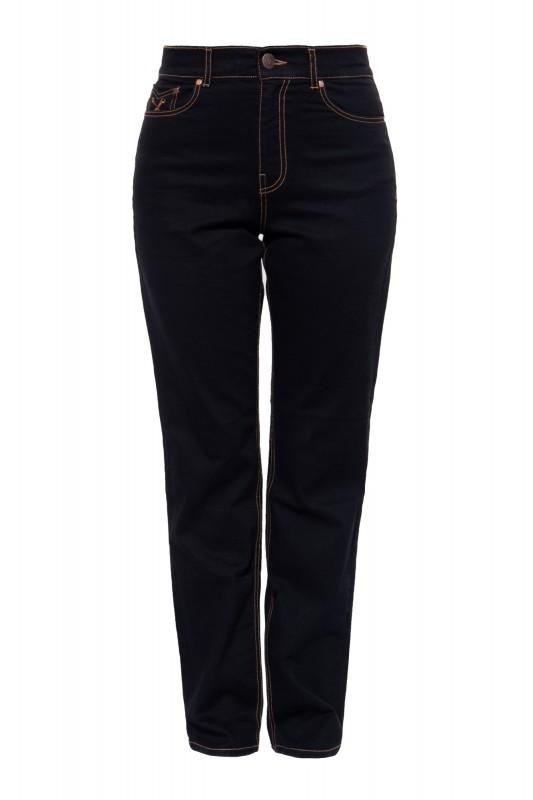 Vintage High Waist Jeans mit geradem Bein »Melly«