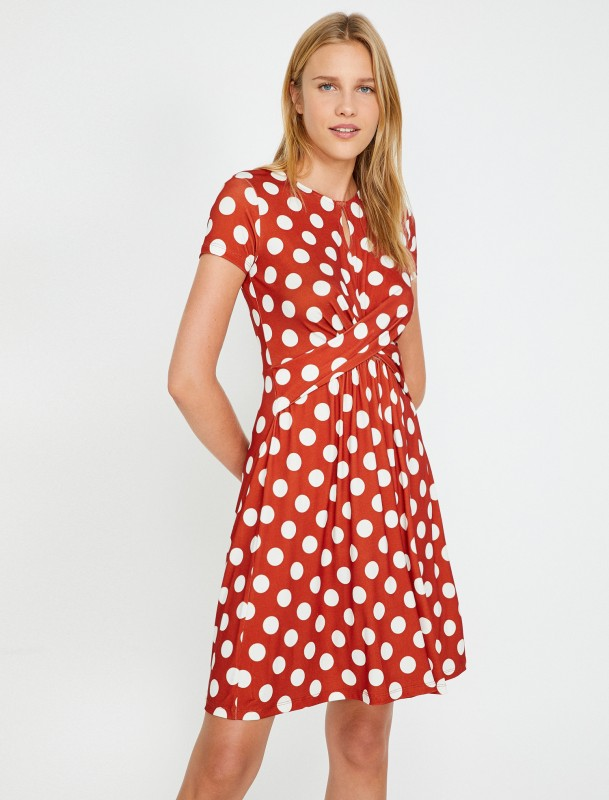 KOTON Sommerkleid mit angesagten Polka Dots