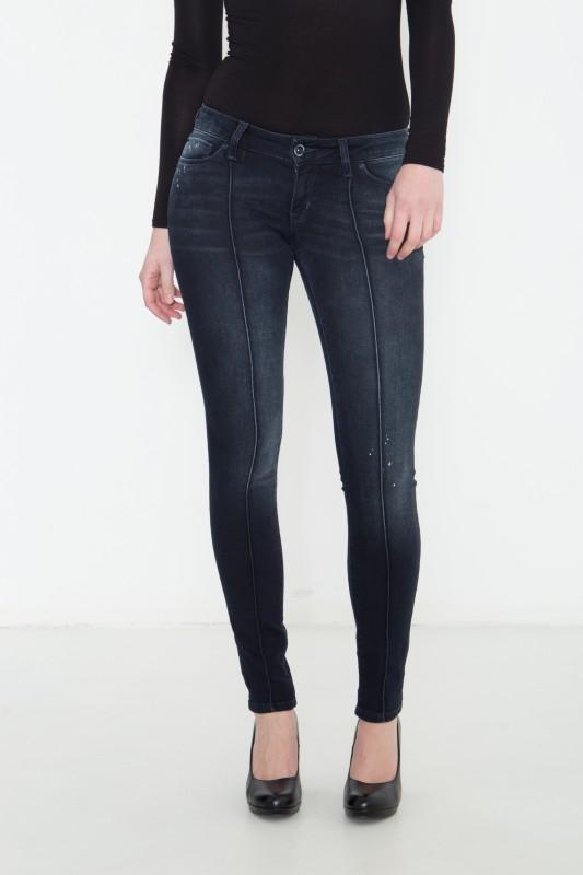 COLINS Skinny Jeans Sally mit Längsteilungsnähten Sally
