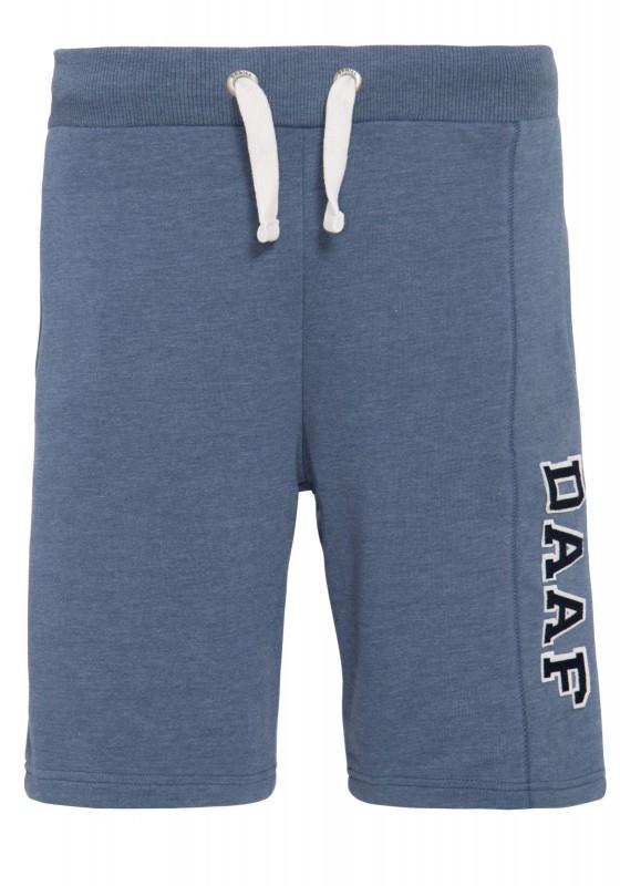 DANIEL DAAF Shorts aus Sweatware mit Schriftzug