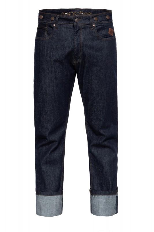 KING KEROSIN 5-Pocket Jeans mit Hosenträger-Knöpfe »Robin«
