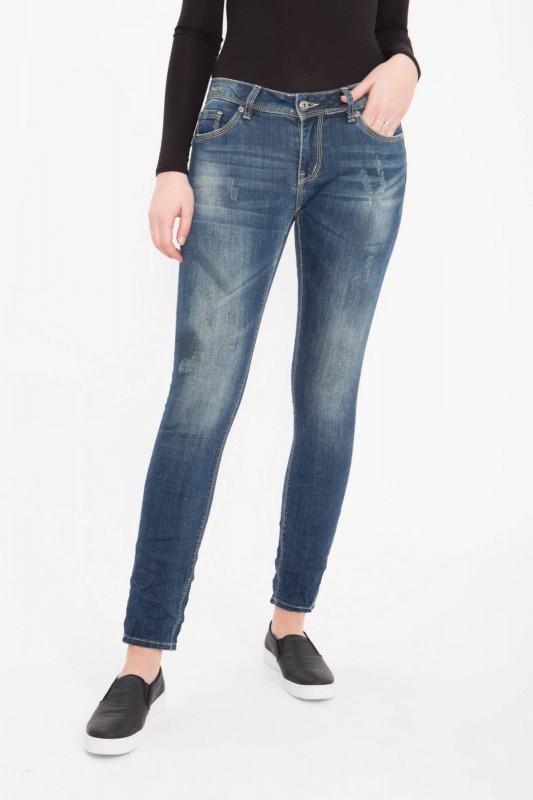 BLUE MONKEY Skinny Jeans Angel 1744 Angel 1744