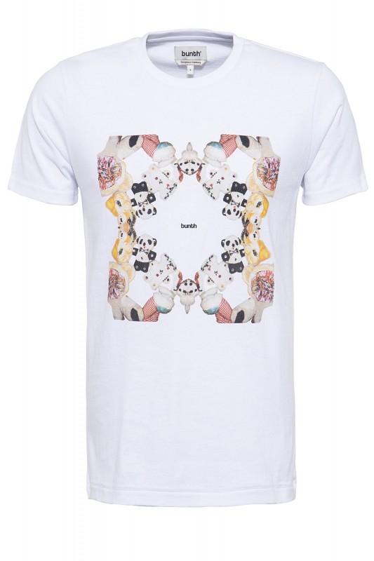 BUNTH T-Shirt mit Fotodruck in der Front
