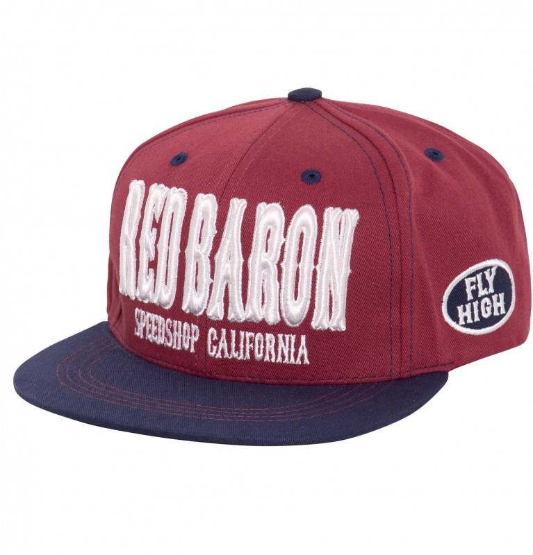 Snapback Cap »Red Baron«