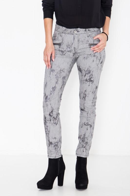 ATT Jeans mit Streifen im Used-Look