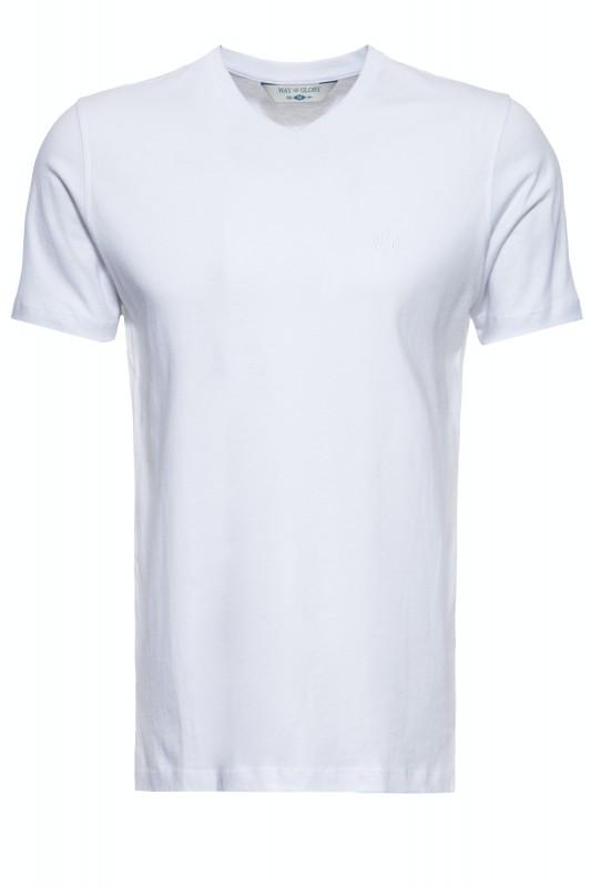 Premium Basic T-Shirt mit V-Ausschnitt