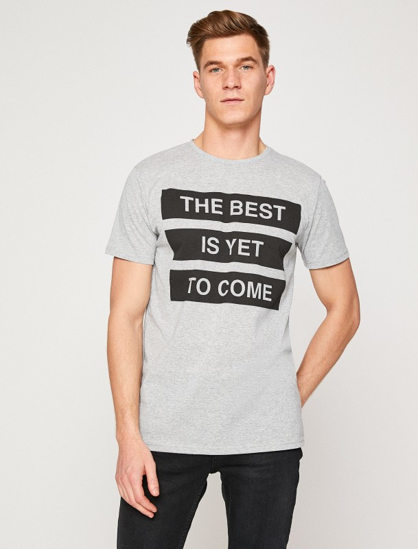 """KOTON T-Shirt """"The best is yet to come"""""""