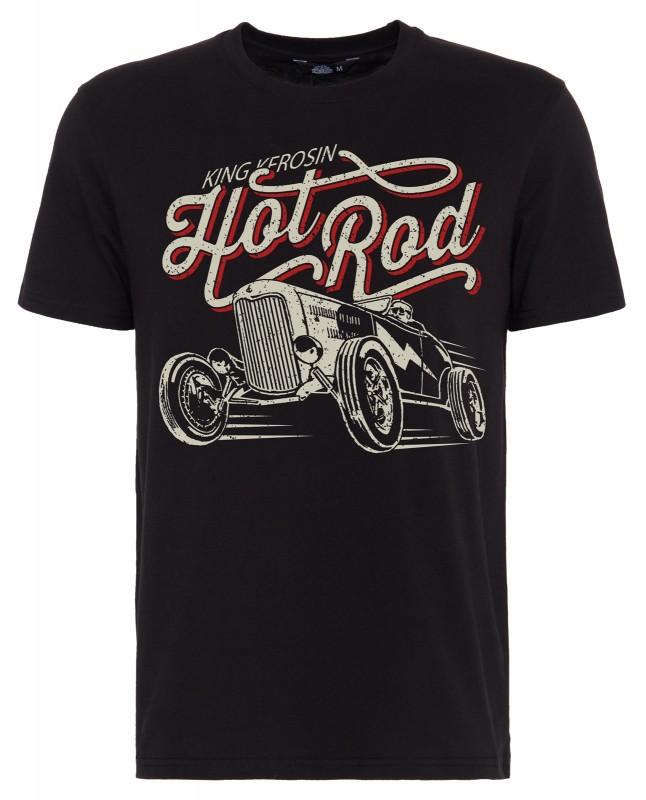 KING KEROSIN T-Shirt mit Front Print »Hot Rod« Hot Rod