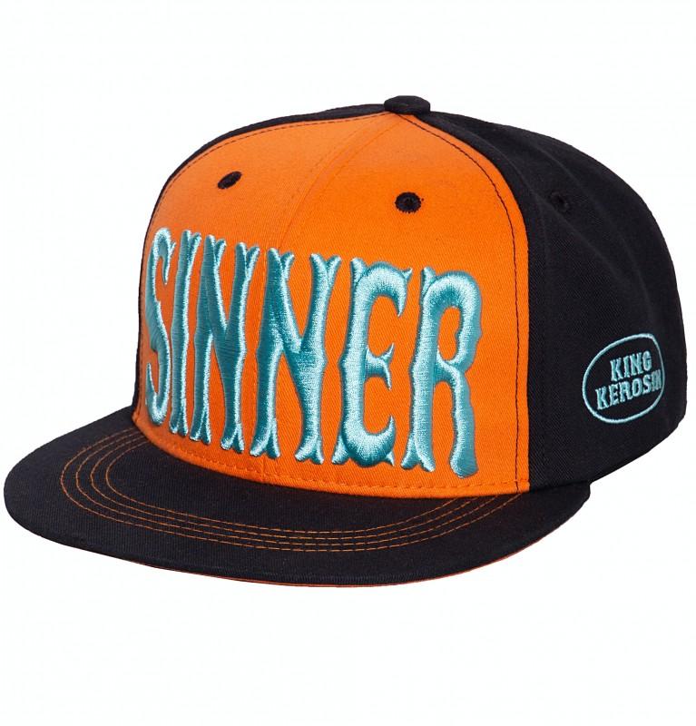 Snapback Cap »Sinner 3D«