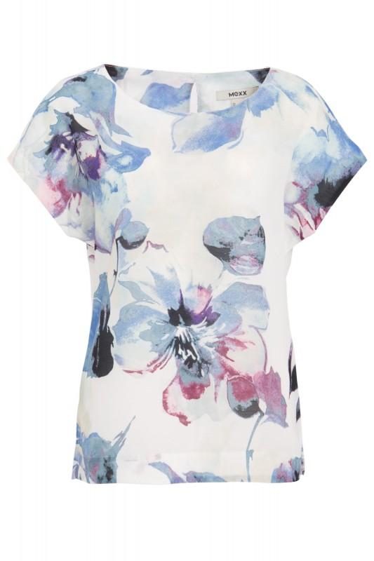 MEXX Shirtbluse mit floralem Alloverdruck