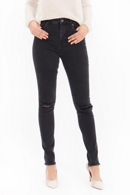MEXX High Waist Jeans im Destroyed Look