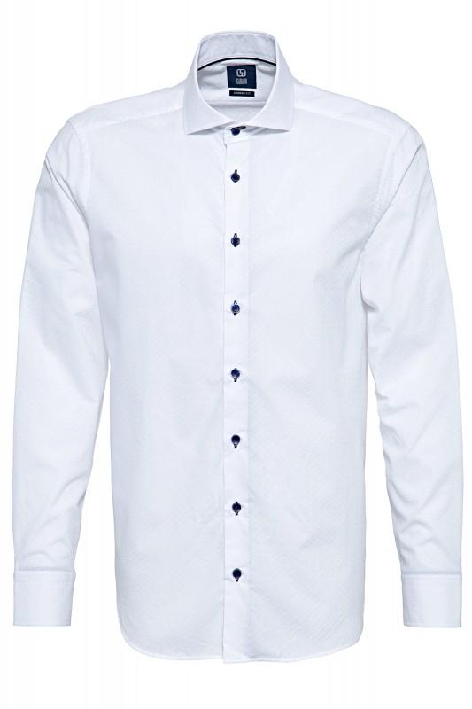 GABANO Langarmhemd mit Strukturmuster