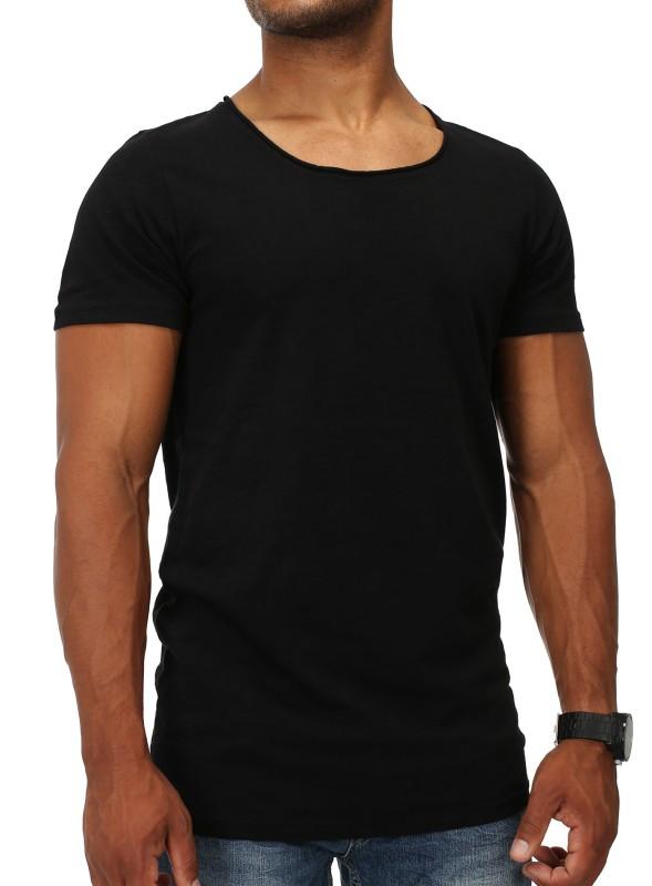 Herren T-Shirt deep Round-Neck Acapulco