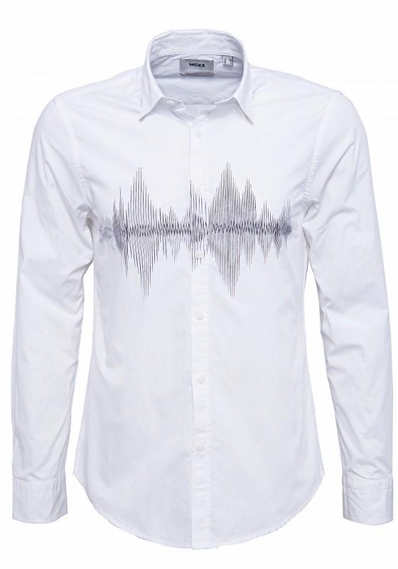 MEXX Slim Fit Hemd mit Frontdruck