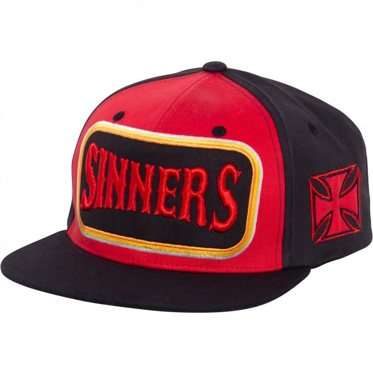 Snapback Cap »Sinners 3D«