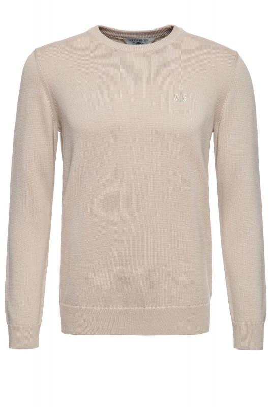 Pullover mit Rundhals-Ausschnitt