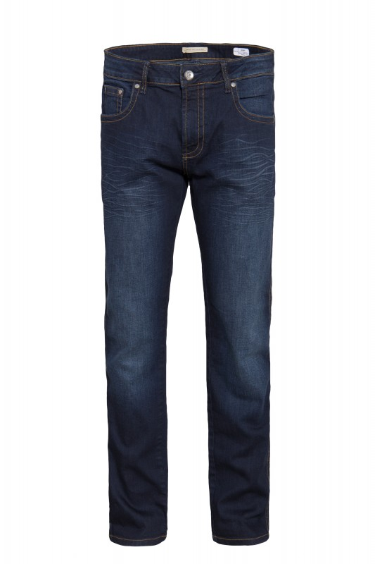 WAY OF GLORY 5-Pocket Jeans Regular Fit mit Sitzfalten John