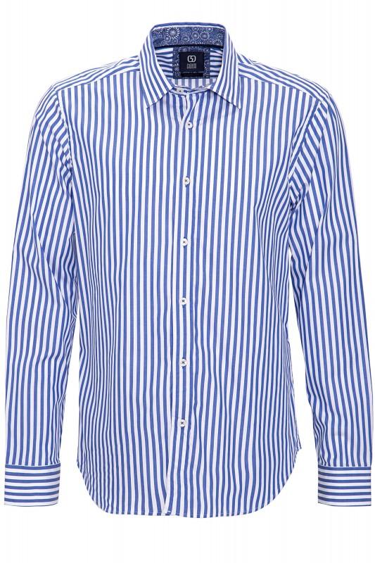 GABANO Langarmhemd mit Streifenmuster