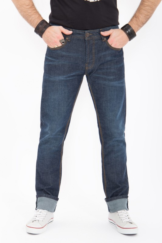 KING KEROSIN Regular Fit Jeans Robin Dark Blue Robin